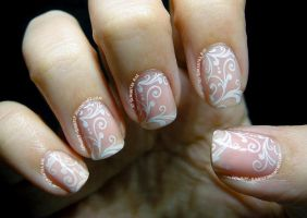 White Lace Filigree by Cowboy-Slightly