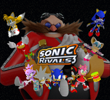 Sonic Rivals 3 by Silverdahedgehog06
