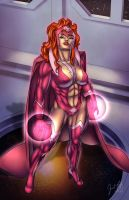 Star Sapphire Mindy Marvel by JosFouts
