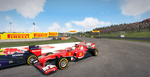 Hungaroring 2- It's a close race! by DesolateOrc0