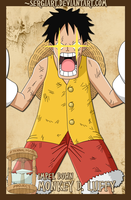 EPP - Impel Down: Luffy by SergiART