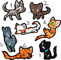 Kitten Adopts (0/7) [CLOSED] by VoidLegend