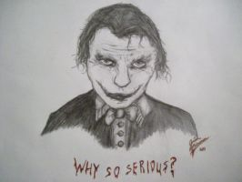 Why so Serious? 1 by josiahherman