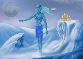 Icy Giant by MayuMerisiel