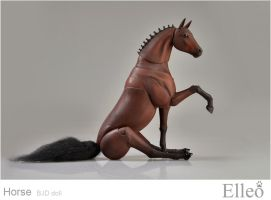 Horse bjd doll 09 by leo3dmodels