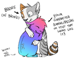 HUG THE BIENIE (YCH unshaded) by SpitfiresOnIce