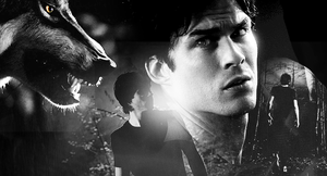 Blend with Damon Salvatore: 1 by Lenny-art