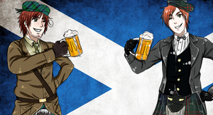 Scotland and Scotland by Aleude