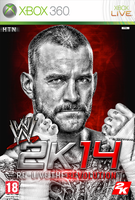 WWE Custom 2k14 Video Game Cover Featuring CM Punk by HTN4ever