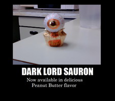 Dark Lord Sauron... Candy? by TheBronzeGryphon
