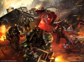 Warhammer /// Deathwatch Codex by DavidAlvarezArt
