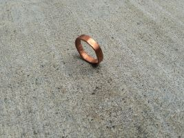 Copper ring by RonantheBarbarian