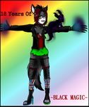 .:18 Years Of Black Magic:. by IggyDrop