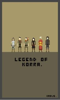 Legend of Korra by crowecrowe