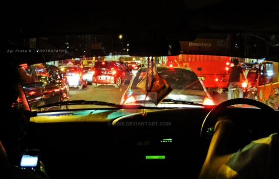 Traffic jam by agie