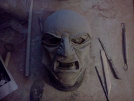 dishonored overseer mask wip by Angelsrflamabl