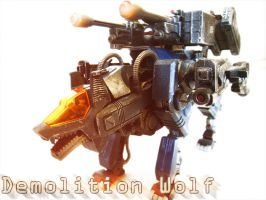 Zoid Custom - Demolition Wolf by Juno-Uno