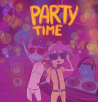 Party TIME by Sparkly-Monster