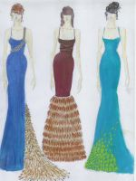 Evening Dresses by theordinaryolive