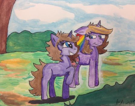 I'm On Top Of The World/ Looking Back  by ArtisticAshGamer