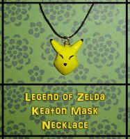 Zelda - Keaton Mask Necklace by YellerCrakka