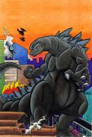 King of the Monsters... by Sea-Salt