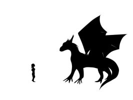 Dragon shadow by Neocropain