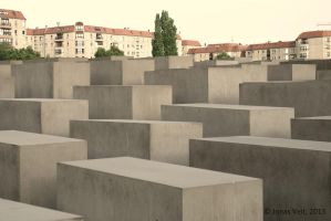 Memorial to the Murdered Jews of Europe by friedapi