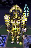 Server Documentation--Golden Statue by MinecraftPhotography