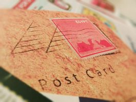 Egyptian Post Card 03 by gleaming4shadows