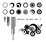 Vector Brush Set 1 by Bamboo-Shampoo