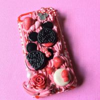Minnie and Mickey decoden phone case by MoniqueSweets