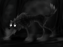 Nightmare -Speedpaint- by GreyeWolf