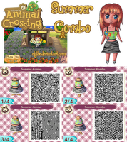 Animal Crossing: New Leaf ''Summer-Combo'' by Elythe