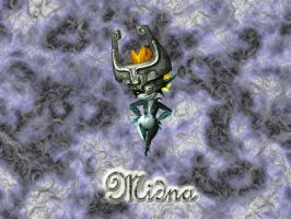 Midna Wallpaper by Strawberryshit