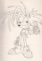 Manic the hedgehog by Blackwind06