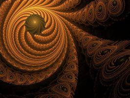 nested spirals by lmarm