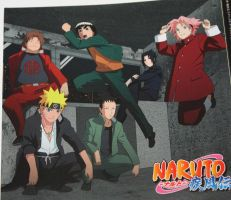Shippu Konoha Gakuen Den! - Michi to you all. by MARSHALLSTAR