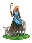 Shepherdess by SmallJoy