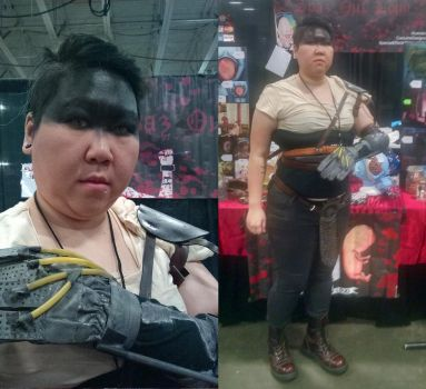 Cosplay: Imperator Furiosa - Mad Max Fury Road by TheSpazOutLoud