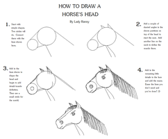 Horse Head Tutorial by Great-Aether