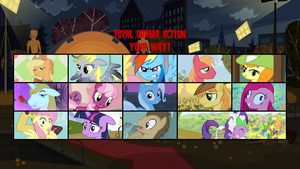 My Little Total Drama Action by SEGASister