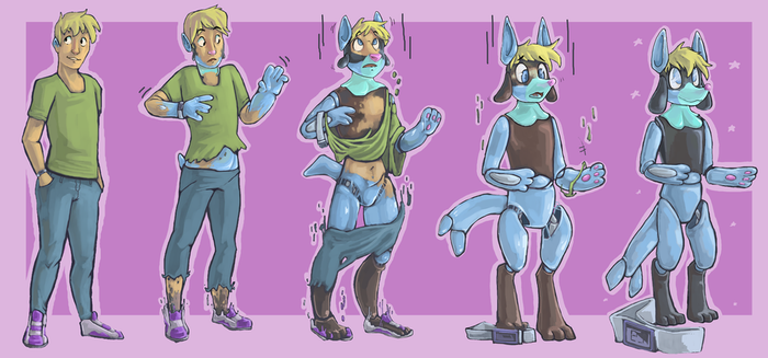 :COM: pokemon action figure TF for SkizzleChizzle by FauvFox