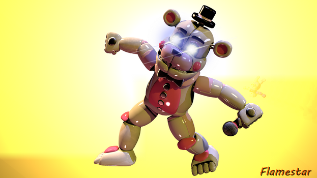 [SFM/FNAF] - KRUMPING PROTO by XFlame-The-FoxX