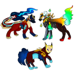 new Kisume breeding pair by shadowthecat971