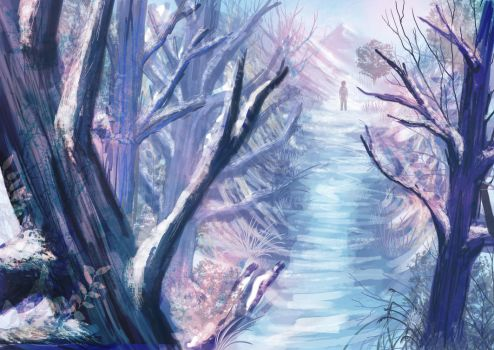 winter forest by chR95