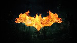 Flaming Bat by sohailykhan94