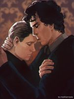 Sherlock BBC - With you by maXKennedy