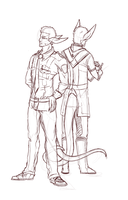 WIP-- Two Sides, One Life by RedtheGamr