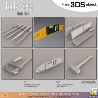 Free 3DS : 039 - Tools 3 pack by lasaucisse